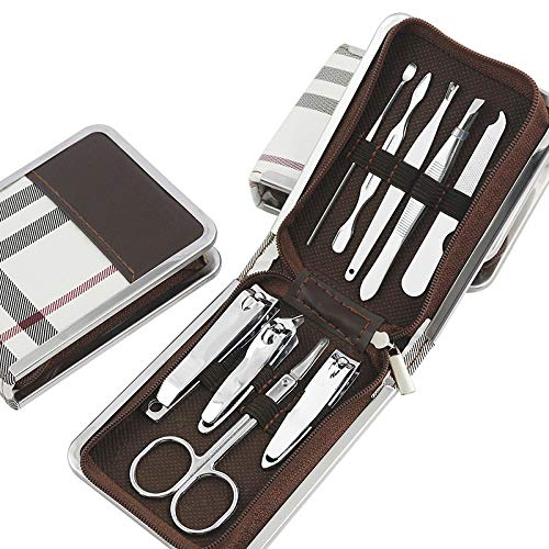 Manicure, Pedicure Kit, Personal Nail Clippers Set Stainless Steel Nail Kit Manicure Set Nail Clippers Pedicure Tools for Men Women