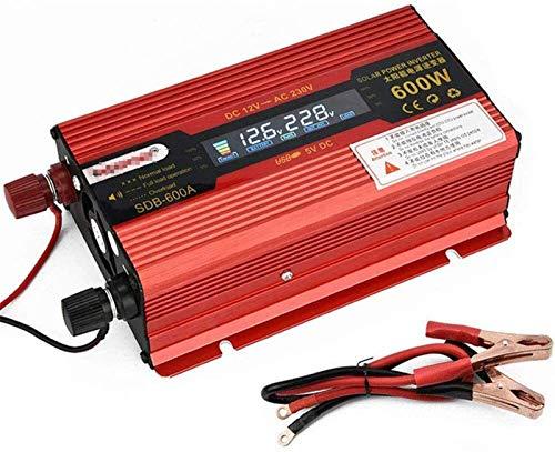 Convertidor de voltaje Inversor de la onda sinusoidal pura inversor del inversor de la corriente del convertidor del convertidor del convertidor del convertidor 600W 1200W 12V 24V DC a 110 V 220V CA c