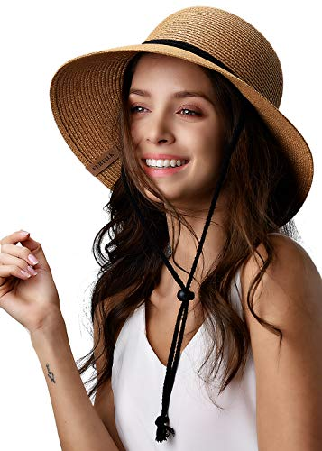 Womens Wide Brim Sun Hat