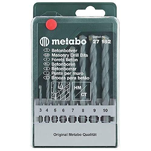 Metabo 627182000 Coffret de 8 forets béton (Import Allemagne)
