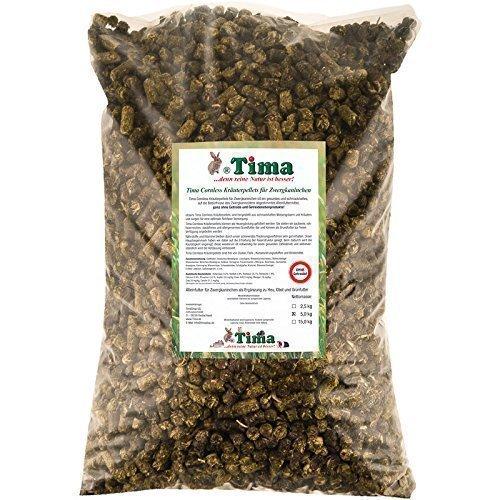 Tima Cornless Kräuterpellets für Zwergkaninchen 5 kg (ohne Getreide!)