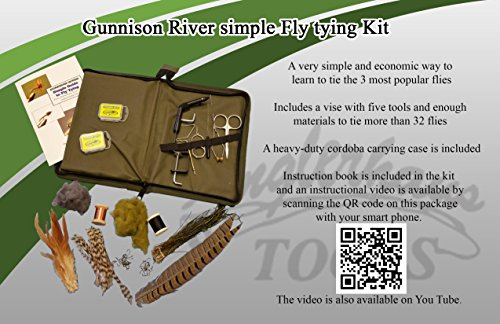 Gunnison River Simple Fly Tying Kit