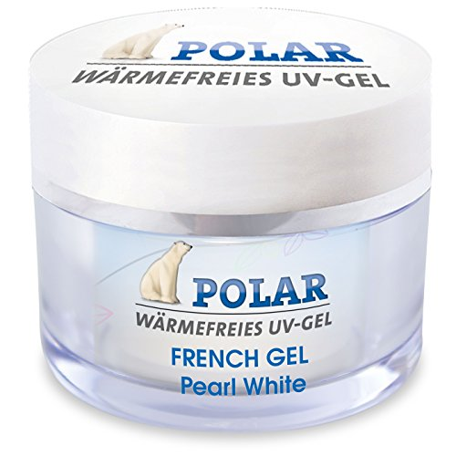ICP-Nailcare GmbH, French Gel Polar, Pearl White 15ml