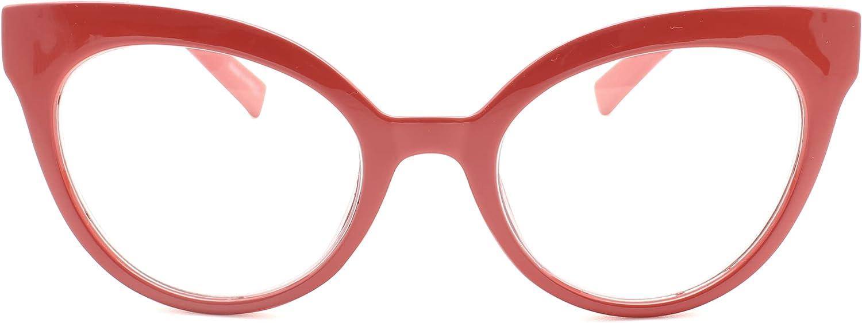 Limited price 2SeeLife Oversized Cat Eye Women's 4 years warranty Reading Glasses
