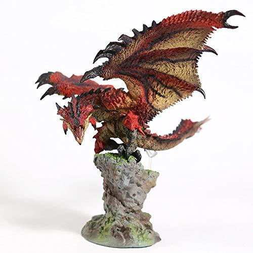 Monster Hunter World Liolaeus Ruban Rouge Azure Rathalos Nergigante Statue PVC Figure modèle Jouet Figurine
