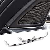 Embellecedor para altavoces de puerta de BMW Serie 5 525d 520d F10 2011 2012 2013, tiras de altavoz estéreo, adhesivo decorativo para embellecer las tiras
