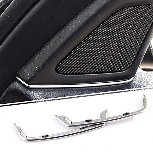 Türlautsprechern blenden Lückenfüller Für BMW 5er 525d 520d F10 2011 2012 2013 Haustür Audio Lautsprecher Streifen Stereo Aufkleber Abdeckung Trim Styling Leisten Aufkleber