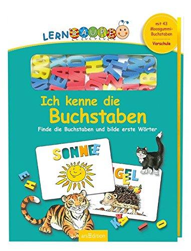 Lernraupe - Ich kenne die Buchstaben: Finde die Buchstaben und bilde erste Wörter (Lernraupe-Vorschule)