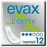 Evax Liberty Normal, el Mejor Comfort & Absorción de Evax- 12 Compresas