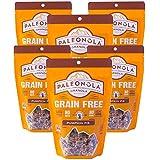 Paleonola Pumpkin Pie Grain Free Granola | Gluten Free, Non-GMO, Dairy Free, No Refined Sugars, 10 Oz Bags (6 Pack)