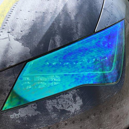 Azul Foliatec 1091 Styling Lamina Blacknight Dark 76 x 300 Cm