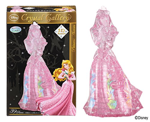 39 piece Crystal puzzle Sleeping Beauty Princess Aurora