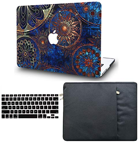 LuvCase 3 in 1 Laptop Case for MacBook Air 11' A1465 / A1370 Hard Shell Cover, Sleeve & Keyboard Cover (Bohemian)