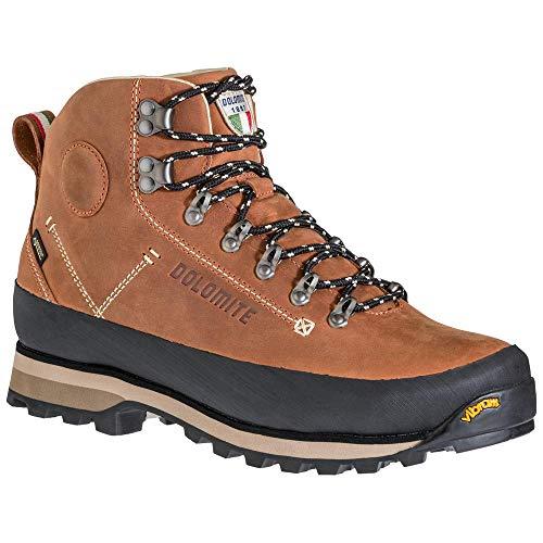 Dolomite M Cinquantaquattro 54 Trek GTX Braun, Herren Gore-Tex Hiking- und Approachschuh, Größe EU 43 1/3 - Farbe Ochr