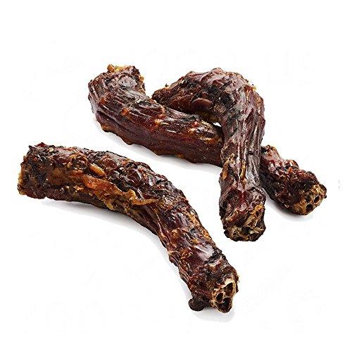 DIBO Putenhälse, 250g-Beutel,der kleine Naturkau-Snack oder Leckerli für Zwischendurch, Hundefutter, Qualitätskauartikel ohne Chemie