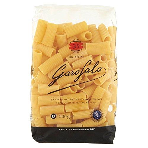 Garofalo - Rigatoni, Pasta di Semola di Grano Duro, Confezione da 8 Pacchi di 500 g