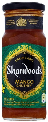 Sharwoods Mango Chutney Pack Of 6x360g Jars