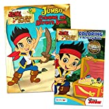 Disney Jake and the Neverland Pirates Coloring and Activity Book Set - (2 Books ~ 96 pgs each)