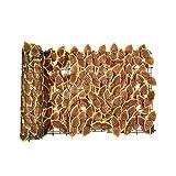 LIANGJING Efeu-Sichtschutz, Rolle, 3 m x 0,5 m, Sichtschutz, Hecke, Wand, Landschaftsbau, Gartenzaun, UV-Schutz