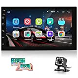 Double Din Android Car Stereo with GPS 7 Inch Capacitance Touch Screen FM Radio Reciever...