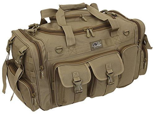 "NPUSA Mens Large 26"" Duffel Duffle Military Molle Tactical Gear Shoulder Strap Travel Bag"