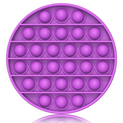 Bdwing Silicona Sensorial Fidget Juguete, Push and Pop Bubble Sensory Toy, Autismo Necesidades Especiales Aliviador del Antiestrés del Juguetes para Niños Adultos Relajarse
