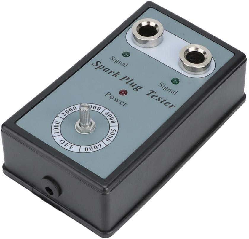 Automotive Spark Plug Tester, Adjustable Dual Hole Sparking Plug