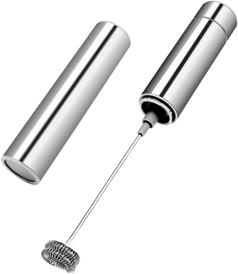 Ranking TOP14 Electric Milk Frother Hand-Held Froth Discount mail order Stainless Steel