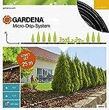 Gardena 13011-20 Set de Inicio para hileras M: Sistema jardín Micro-Drip para un riego Que Ahorra Agua y Protege Las plantaciones en Fila, Estándar