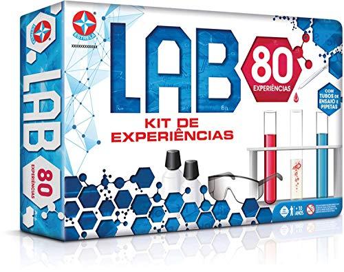 Jogo Lab 80 Brinquedos Estrela, Multicor, Único