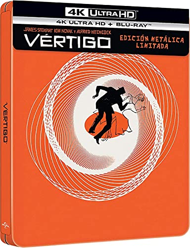 Vértigo (4k UHD + Blu-ray) (Ed. Especial Metálica) [Blu-ray]