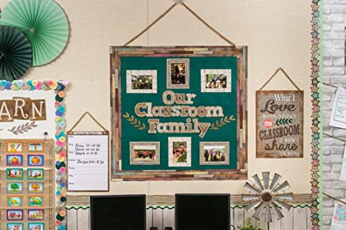 Teacher Created Resources Hunter Green Painted Wood Better Than Paper Bulletin Board Roll (TCR77893) Photo #4