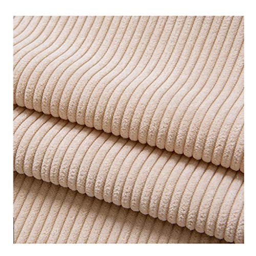 yankai Fabulous Fabrics fluweel petrol, stof fluweel cord één kleur cord overhemd overhemd effen katoen jas broek sofa breedte 150cm NIU
