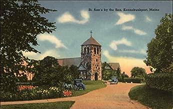 St. Ann's by the Sea Kennebunkport, Maine Original Vintage Postcard