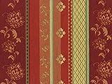 Landhaus Möbelstoff Lindau Farbe 54 (bordeaux, rot,