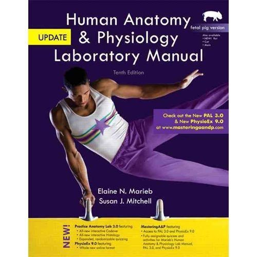 Human Anatomy & Physiology Laboratory Manual, Fetal Pig Version, Update and MasteringA&P with eText Access Card Package