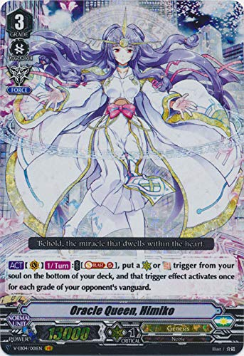 Cardfight!! Vanguard - Oracle Queen, Himiko - V-EB04/001EN - VR - V Extra Booster 04: The Answer of Truth