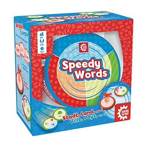 American Game Factory gamefactory 76159–Speedy Words, bunt