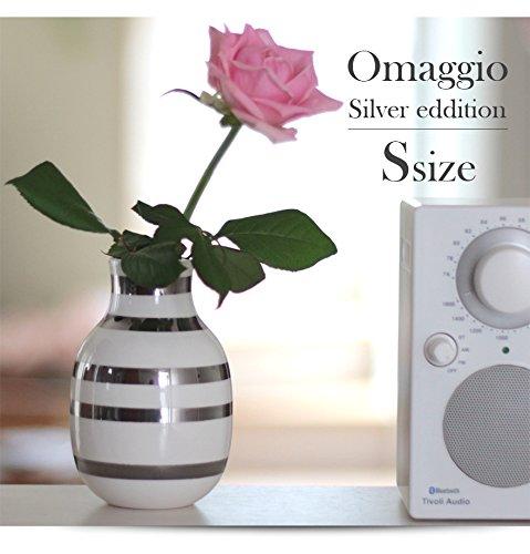 【KAHLER/ケーラー】 Omaggio/オマジオ シルバ Small 15211 花瓶/陶器/生け花/北欧/デンマーク【コンビ
