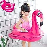 Flotador inflable anillo piscina verano agua juguetes para niños (rosa, 30 cm)