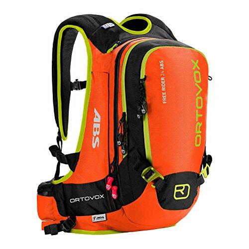 ORTOVOX - Mochila con airbag Anti-avalanchas Naranja Crazy Orange Talla:27 x 18 x 57 cm, 26 Liter