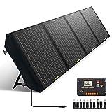 ECO-WORTHY 120W Kit de Panel Solar Plegable Generador 500WH / DÍA para Emergencia de Viaje de Campamento al Aire Libre