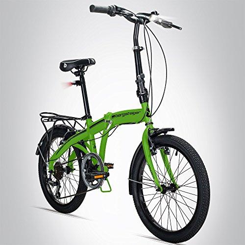 Alpinistes Windsor 20', vélo pliant vélo pliant, Shimano 6vitesses, batterie de lumière LED,...