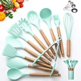 Kitchen Utensil Set - 16 Silicone Cooking Utensils. Kitchen Gadgets for Cookware Kit. Kitchen...