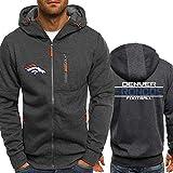 RT NFL Hoodie Sweatshirt Jacket - Denver Broncos Sportswear Teen Spring Training Casual Cardigan...