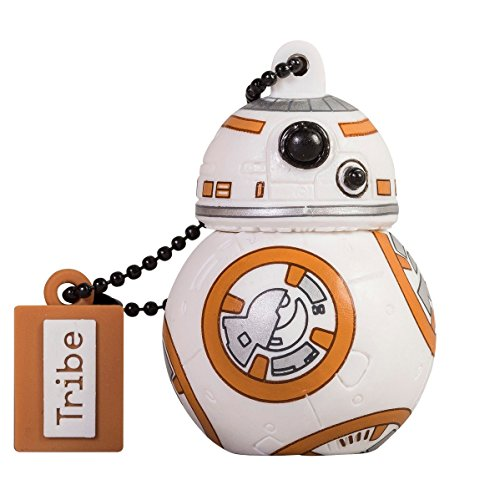 Llave USB 16 GB BB8 - Memoria Flash Drive 2.0 Original Star Wars, Tribe FD030504