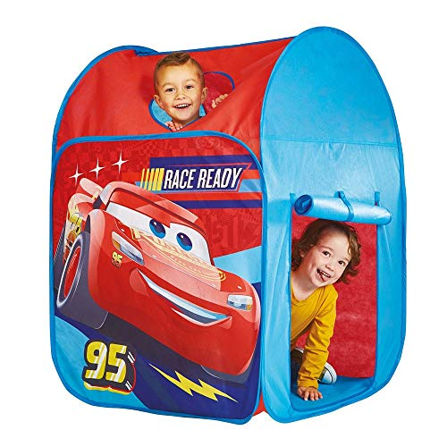 familie24 Disney Cars Spielzelt Kinderzelt Zelt Lightning McQueen Gartenzelt