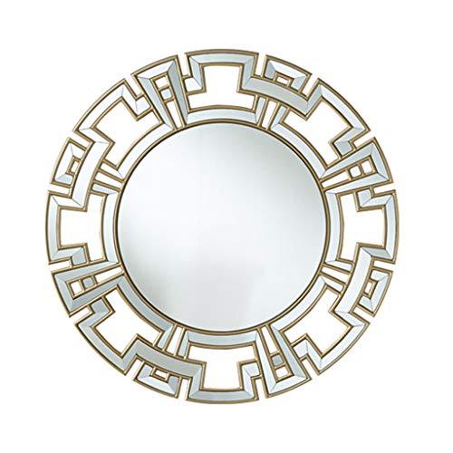 Miroirs Suspendu Au Miroir Mural Miroir Mural De Chambre Dressing De Mode Miroir De Salle De Bain Décoration Murale De Salon Miroir Porche Couloir Miroir Mural Miroir Mural Rond