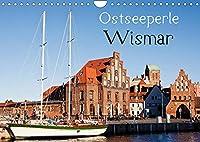 Ostseeperle Wismar (Wandkalender 2022 DIN A4 quer): Wismar - Kleinod an der Ostseekueste (Monatskalender, 14 Seiten )
