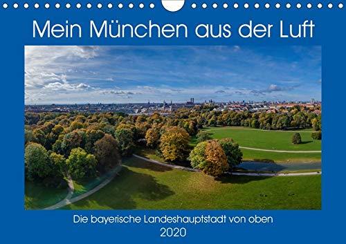 Mein München aus der Luft (Wandkalender 2020 DIN A4 quer): Einzigartige Luftbilder von München, Perspektiven die man selten sieht. (Monatskalender, 14 Seiten ) (CALVENDO Orte)
